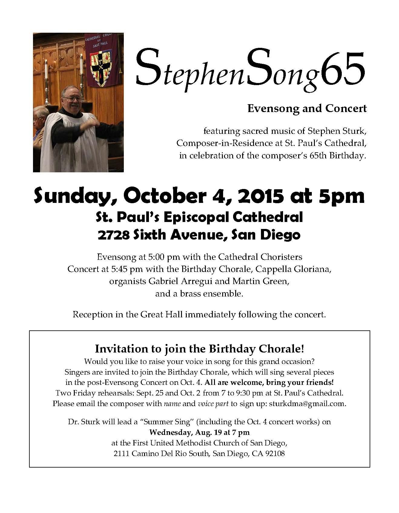 Stephen Sturk - Composer, Director, Musician